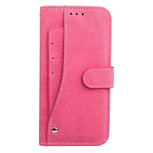 2018 trending new design with rotated card holder full protective leather wallet holster flip cover case for samsung note 8