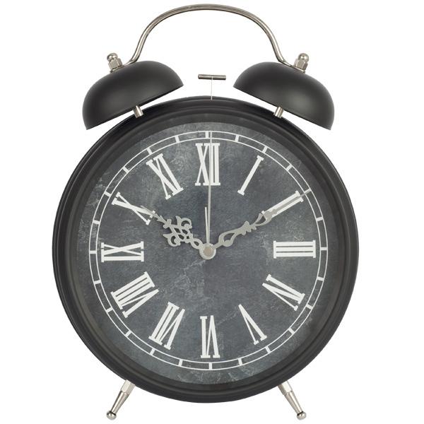 8 inch metal jumbo twin bell retro alarm clock large face clocks