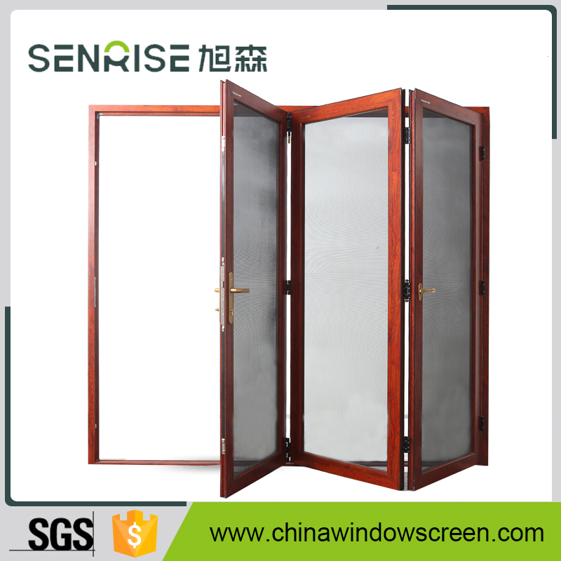 aluminium frame insect screen accordion door
