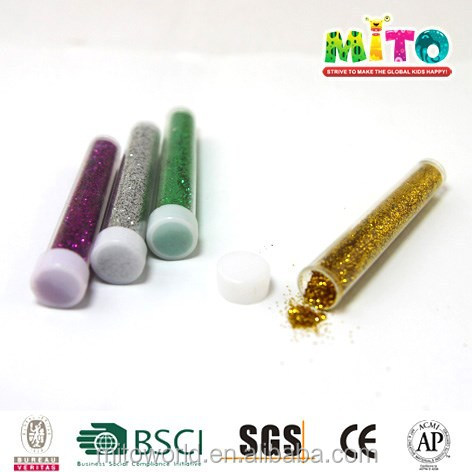 MTJF-WSG48BX1 4.5g non toxic 24 multicolor craft manufacture glitter for child diy