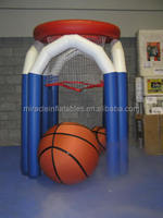 Hot sale inflatable basketball hoop,hot hoops basketball game for kids M6022
