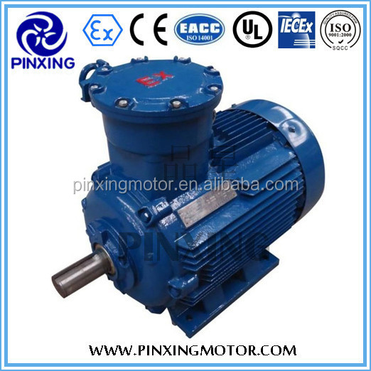 YB3 explosion proof three phase induction/asynchronous motor, energy saving,high efficiency,Shanghai,made in China