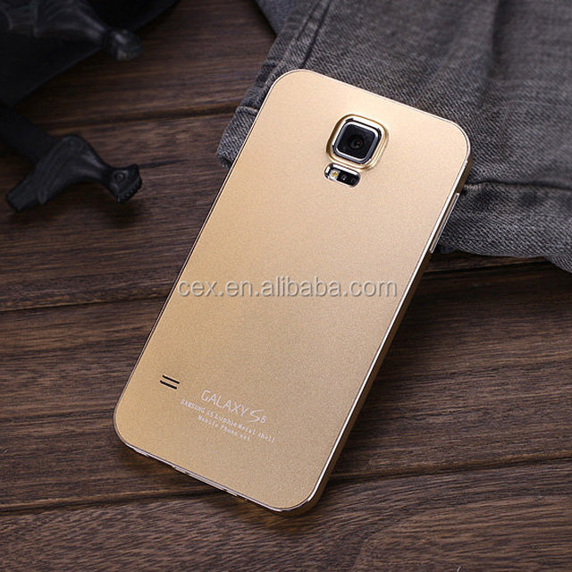 For Samsung Galaxy S5 i9600 Fashion Luxury Brushed Aluminium Metal Hard Case