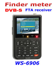 DIHAO Tech ws6906 digital satellite finder ws 6909 3.5inch lcd sat finder
