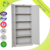 Office Swing Door Steel File Cabinets with 4 Shelves