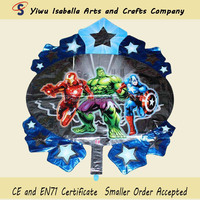2014 new hot wholesale Justice League foil balloon with high quality