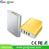Unique Item 3 USB 2.4A Output Portable Power Bank 10400mAh for Smartphones