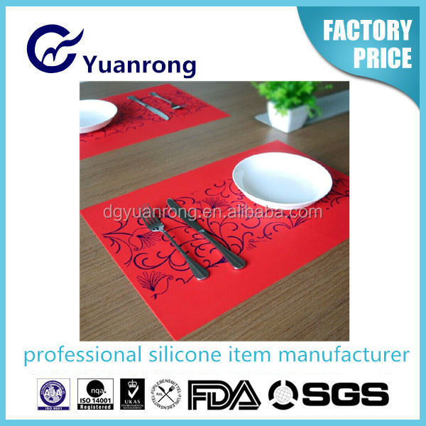 Tableware Silicone Baking Mat Eco-friendly Placemat