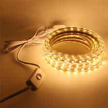Outdoor Decoration IP68 110v 220v SMD 5050 led rgb strip 100m Waterproof plug with ON/OFF switch 8mm,9mm,10mm,12mm.