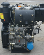 Extremely durable 2 cylinder 18hp diesel engine