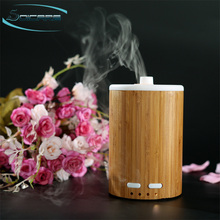 wholesale real bamboo aromatherapy ultrasonic essential oil aroma diffuser humidifier