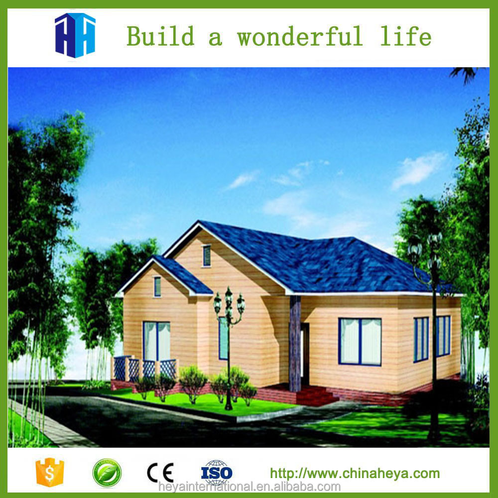 Complete turnkey prefabricated houses kit homes