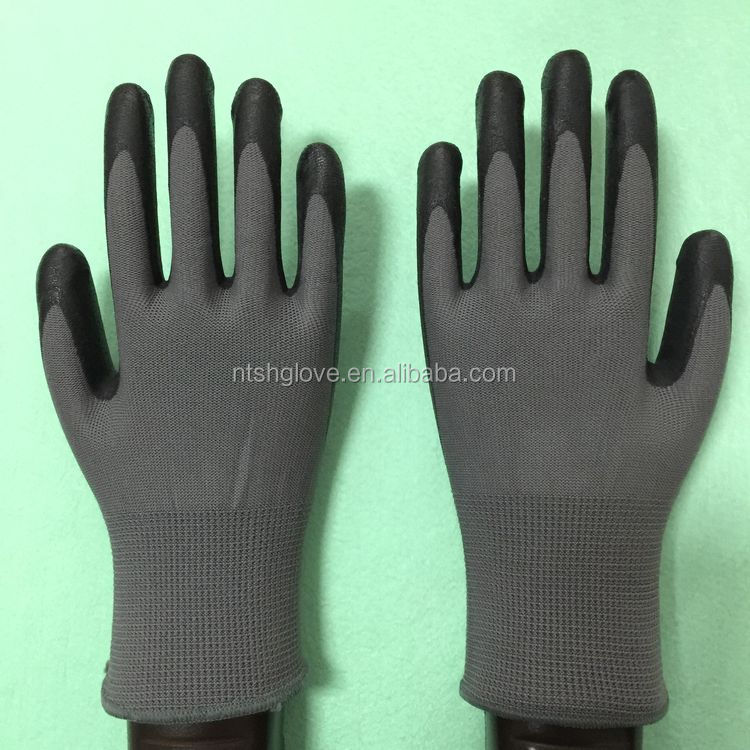 Cheapest Industrial thin nitrile coated glove