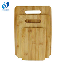 WanuoCraft Customize Rectangular Solid Bamboo Wood Cutting Boards