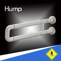 free standing angled bathroom safety grab bar for the disabled