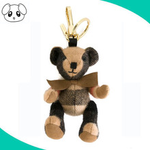 craft plush jointed teddy bear with movable arms and legs