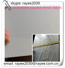 50D 30gsm polyester square diamond mesh fabric 1.03x2000M/roll used for shoes,Thailand,cotton lightweight net fabric