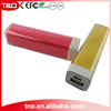 Mini Lipstick ROHS Power Bank 2600mAh