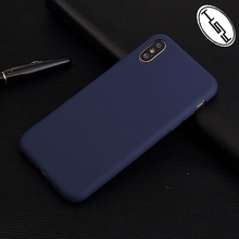 HUYSHE Wholesale Price for iphone X Colorful Matte TPU Silicone Mobile Phone Case