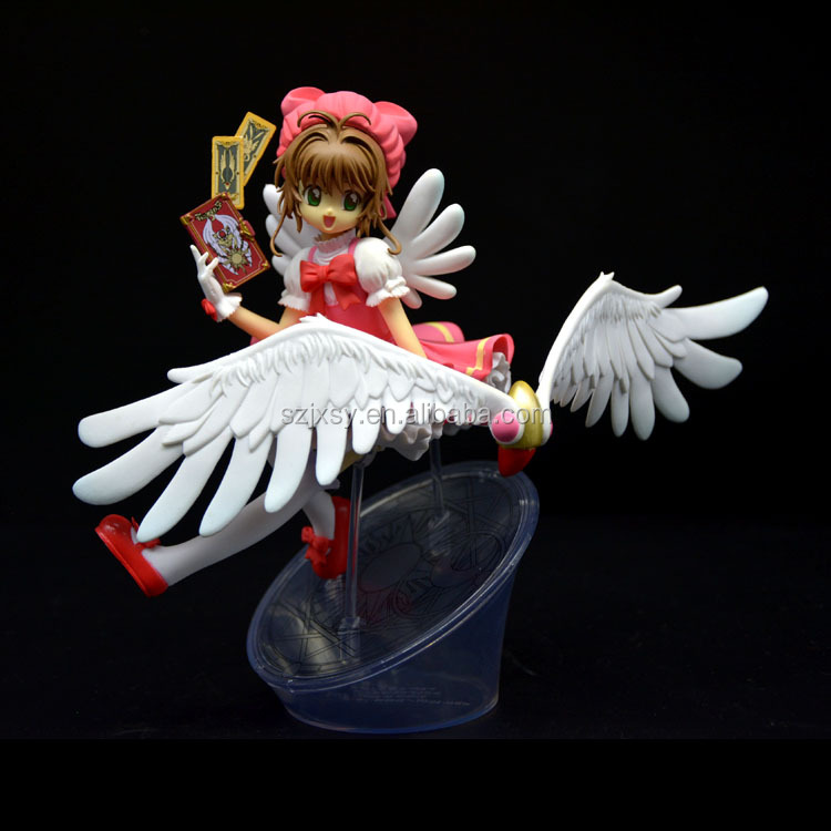Customized Polyresin Girl Lovely Little Angel Model For Sale