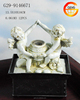 Polyresin angel garden water fountain with reasonable price