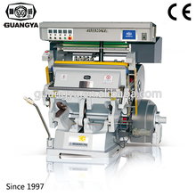 Manual Hot Foil Stamping And Die Cutting Embossing Machine For Leather