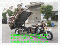 2.2m max cargo box hydraulic cargo tricycle