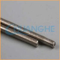 CE certificate carbon steel zinc plated all threaded rod