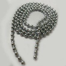 Low Price nickel plated fashion jewelry brass ball chain