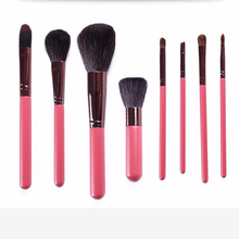 2017 trending products 8 PCS Professional Cosmetic Facial Make up Brush Tools Makeup Brushes Set Kit With Pink PU Bag