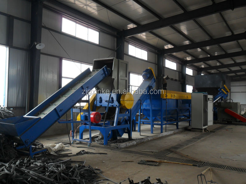 waste agricultural film plastic recycling washing system