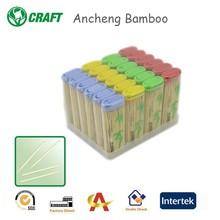 eco-friendly bamboo different kinds of toothpicks made in china
