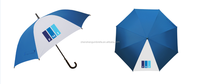 Blue Premium Auto Open Rain Umbrella