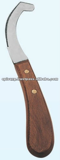 Bot Hoof Knife Serrated Edge, Fancy Hoof Knives