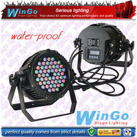 LED RGBAW+UV water-proof par / IP65 led outdoor light / LED flexible strip par56