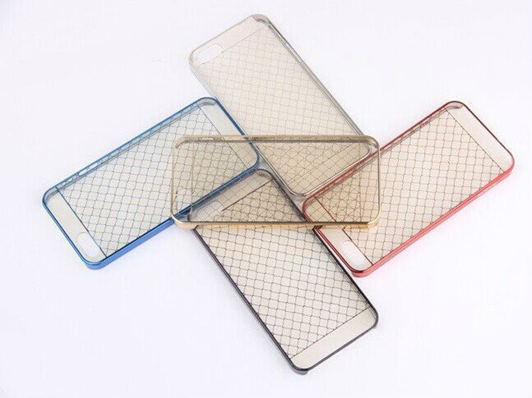 new arrivals Ultra-thin plastic with plating pattern hard case for IPhone5/5S