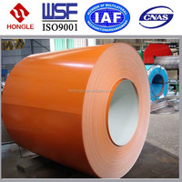 Prepainted GI steel coilI / color coated galvanized steel sheet / PPG in coil