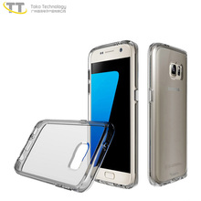 Antiskid and shockproof hybrid tpu+pc case for samsung s6 s7 s5