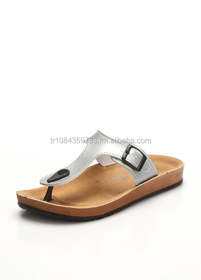 Antibacterial Ortopedic Womans Flip Flops