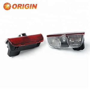 Top laser projector logo led for SKODA Superb ghost shadow light lamp