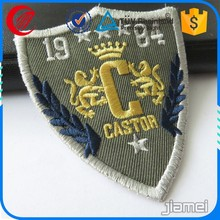 china Customized Hot fix 3d embroidery patch