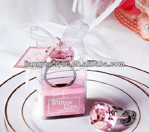 acrylic gift boxes for wedding or gifts,decorations