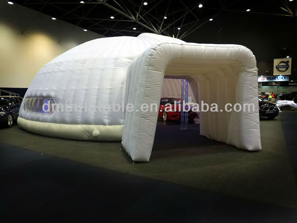 white customized advertising Inflatable Pods