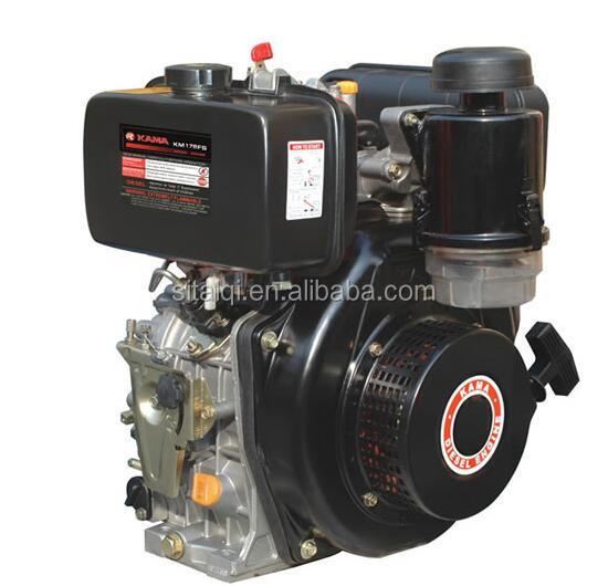 KAMA 178FS small diesel engine used single cylinder diesel engine 5.03Hp/5.44Hp for sale
