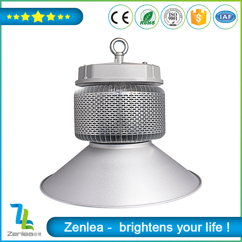 High lumen bridgelux cob Fins type industrial led high bay 120w