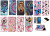 For Huawei P9 lite leather case Pu Back case covers Pu Color Printing leahter Back case covers