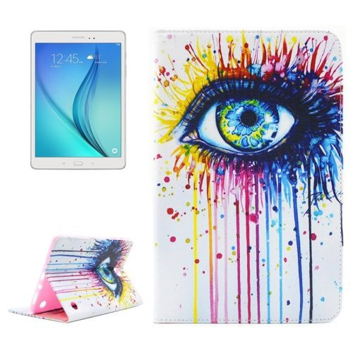 Various Designs Flip Wallet Style Leather Tablet Case for Samsung Galaxy Tab A 8.0 T350