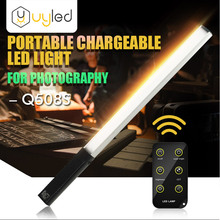 UYLED Q508S high CRI 95 portable ultra bright 1000lm ice light LED photography lighting with remote