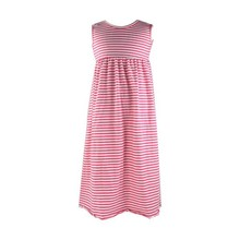 KAIYO hot sale kids girls solid plain sleeveless fashion long maxi party dress for 3M- 12T