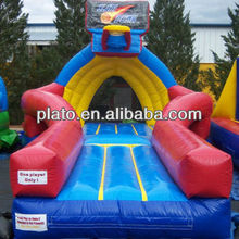 Inflatabel sporting equipment for exercise and entertainment